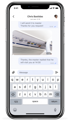 Screen of Landlord app for iPhone X - Silver (6)
