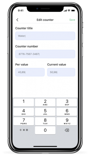 Screen of Landlord app for iPhone X - Silver (8)